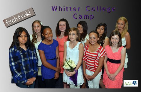 Ten went to the Whittier Tech Trek camp in June 2013.